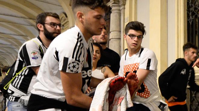 Mouvement de panique dans une fan zone à Turin