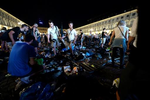 Ligue des champions : 1000 blessés dans un mouvement de panique à Turin