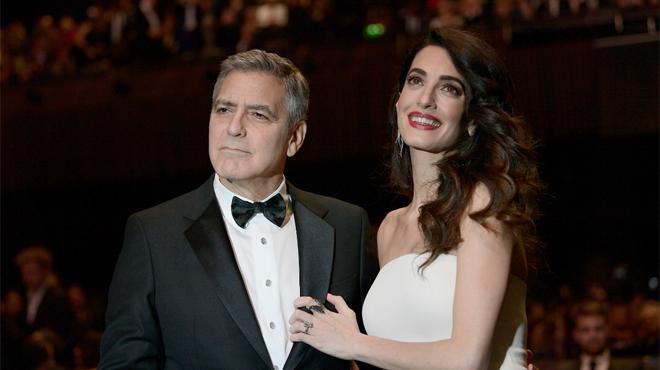 Naissance des jumeaux de George et Amal Clooney (agent)