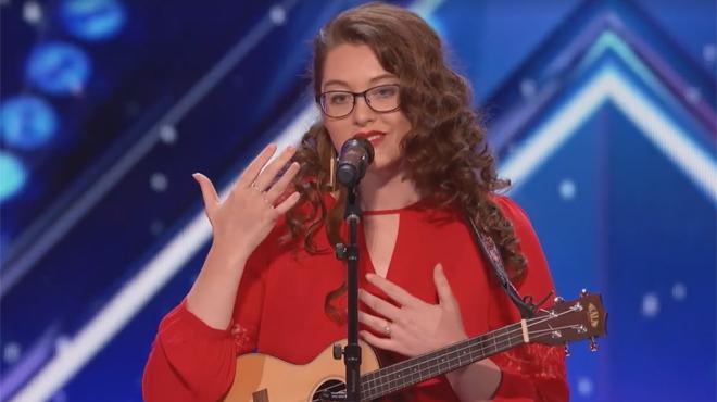 Une jeune femme sourde fait sensation dans America's Got Talent