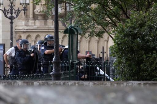 Attaque devant Notre-Dame: un jihadiste
