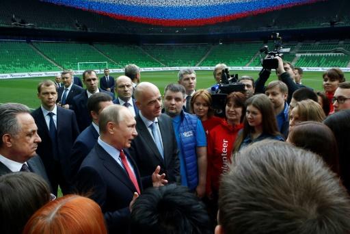A un an du Mondial-2018 en Russie quelques retards et des interrogations