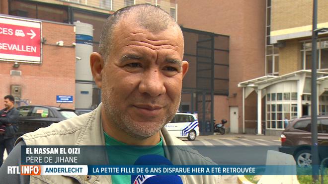 Jihane retrouvée en vie dans le centre de Bruxelles: son père témoigne à la sortie de l'hôpital