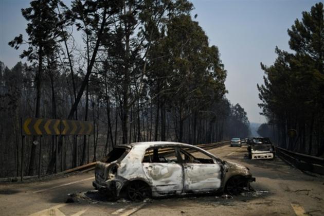 Incendie de forêt meurtrier au Portugal: le pays sous le choc