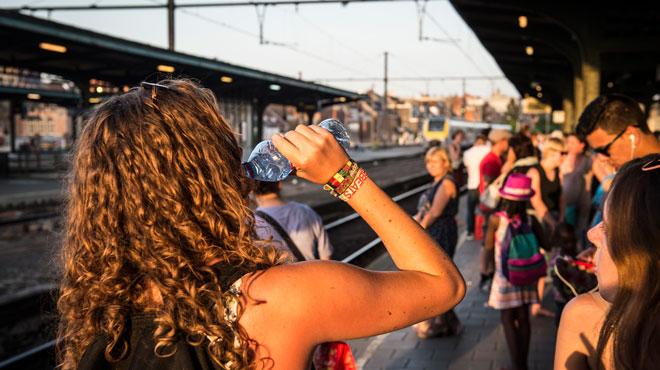 Pagaille sur le rail belge lundi en fin de journée: