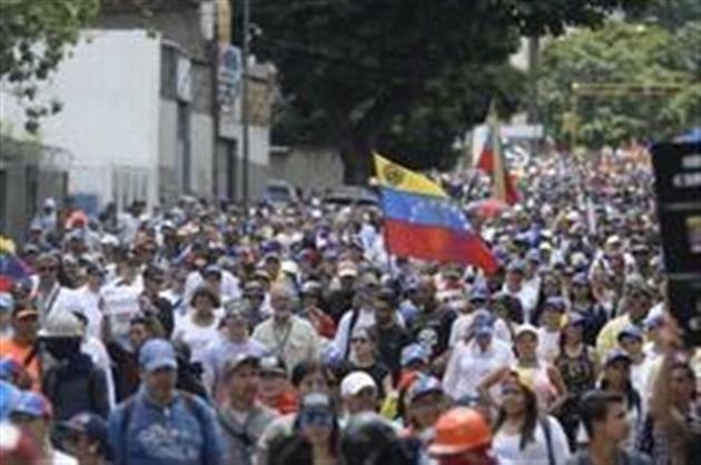 Soutien de la rue à une procureure — Venezuela