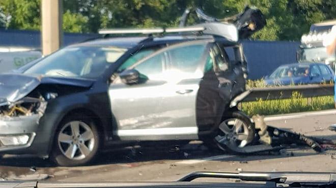 Waremme: une personne décédée dans l'accident sur la E40