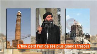 Au pied du mur, l'EI détruit la mosquée où son chef avait tenu son premier prêche en 2014- Une déclaration officielle de défaite
