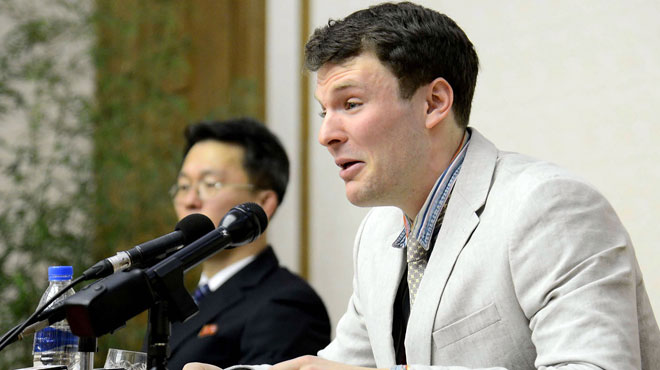 Mort d'Otto Warmbier: Pyongyang accuse Washington de diffamation