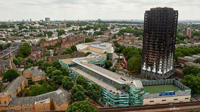 Cinq tours de logements évacuées immédiatement à Londres pour risque d'incendie- 800 ménages doivent être relogés 1