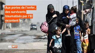 Prenez tout mon sang s'il le faut!- désespérée, une mère amène son enfant blessé aux soldats qui libèrent Mossoul de l'EI