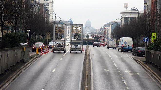 Embouteillage monstre à Bruxelles, petite ceinture fermée- le BXL Tour perturbe le trafic dans la capitale 1