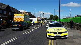 Une voiture renverse des piétons à Newcastle- plusieurs blessés 4