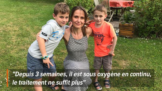 Sacha, 9 ans, a besoin d'une opération à 430.000€ aux USA- On n'a pas le temps d'attendre 1