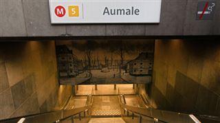 Un contrôle de routine tourne mal dans le métro à Bruxelles- un policier a dû tirer sur un chien 5
