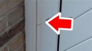 Vous avez découvert un cure-dent coincé dans votre porte? La police vous met en garde 2