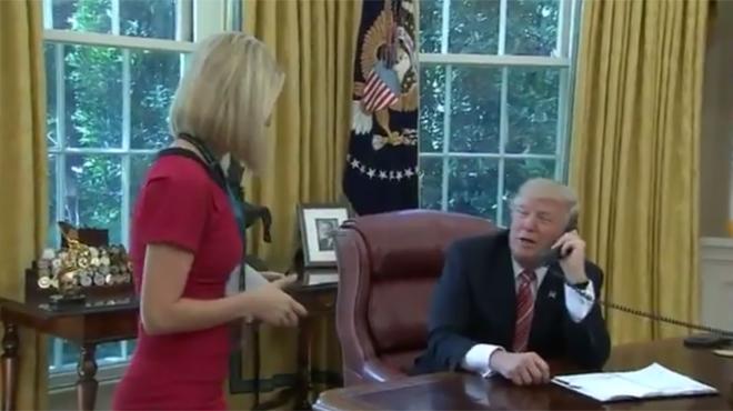 Face caméra, les remarques sexistes de Trump à une journaliste irlandaise