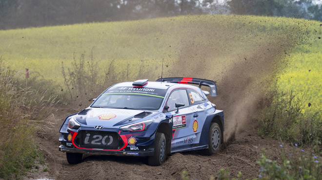 Le Belge Neuville en tête — Rallye de Pologne
