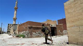 Nouveau revers pour l'EI- la coalition soutenue par les USA entre dans Raqa par le sud via l'Euphrate