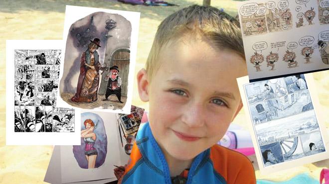 Sacha a besoin d'une opération à 430.000€ aux USA: des dessinateurs de BD accélèrent la récolte de fonds
