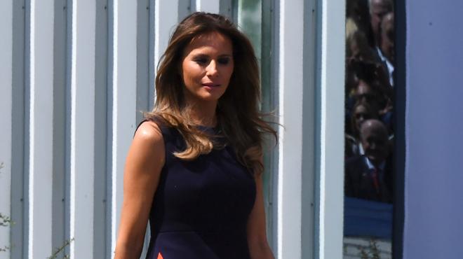 Trump se prend un vent phénoménal de l'épouse du président polonais