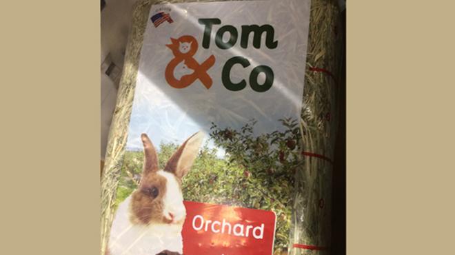 Tom & Co fait venir... d'Amérique du foin pour rongeurs: