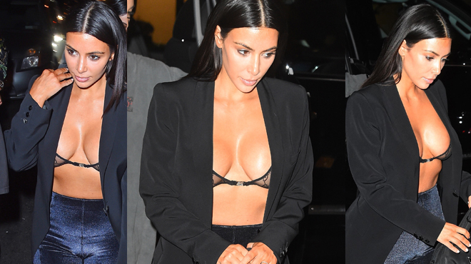 Kim Kardashian clame son innocence — Drogue