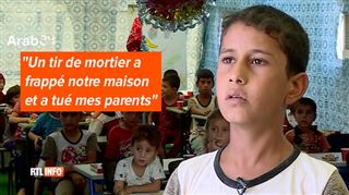 Des centaines d'orphelins reçoivent enfin un peu d'amour à Mossoul- Ils sont dans un état psychologique déplorable