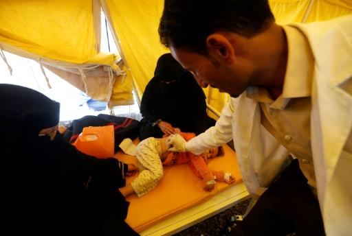 Choléra au Yémen : plus de 300.000 cas suspects et 1.600 morts
