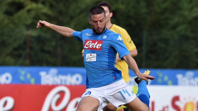 Naples fait un carton en match amical : 17 à 0 !