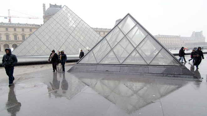 Le musée du Louvre victime des orages du début de la semaine