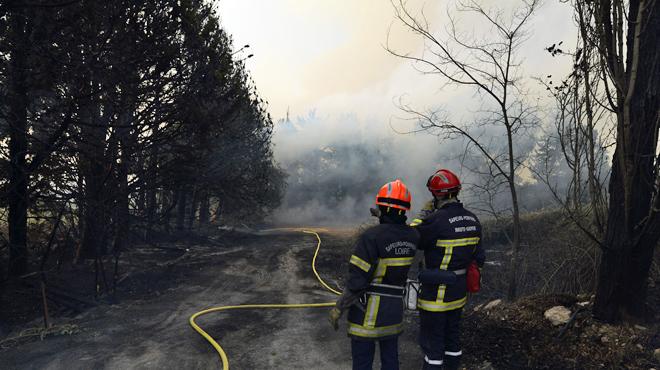 Plusieurs incendies en cours dans les Bouches-du-Rhône