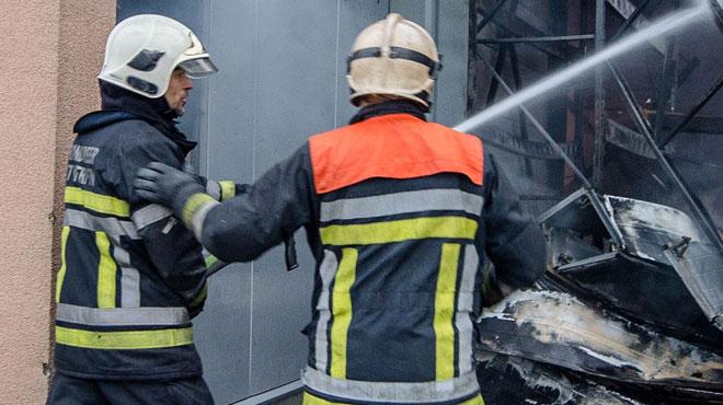 Un habitant de Leeuw-Saint-Pierre gravement blessé dans l'incendie de son appartement