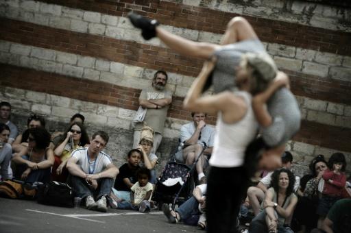 Arts de la rue: le festival de Chalon à
