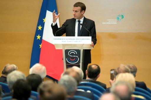 Macron promet