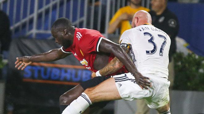 Beaux débuts de Lukaku avec Manchester United: voici son joli premier but (vidéo)