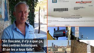 Attention aux 'zones à trafic limité' en Italie- Christian vient de recevoir sa 6e amende, un an après ses vacances en Toscane ! 3