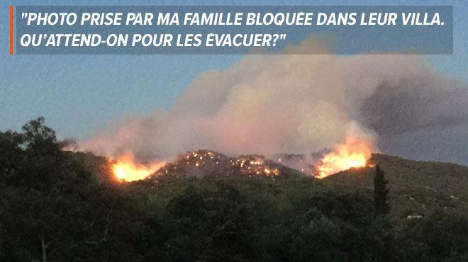 Incendies en France- des Belges craignent pour leurs proches en vacances dans les régions sinistrées 1