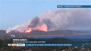 Incendies en France- des Belges craignent pour leurs proches en vacances dans les régions sinistrées 3