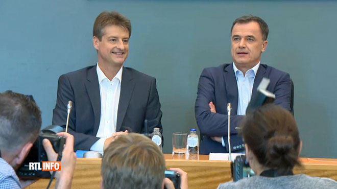 Nouveau gouvernement wallon MR-cdH- suivez la présentation de l'accord en direct 1