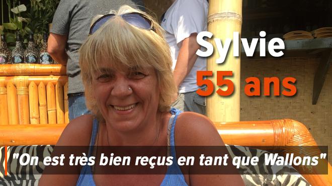 Sylvie vient chaque année en vacances à la Côte belge: