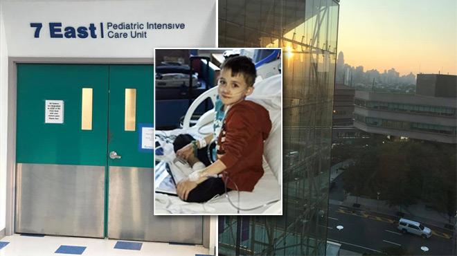 Des nouvelles du petit Sacha: il a bien été opéré cette nuit, mais d'autres interventions sont nécessaires