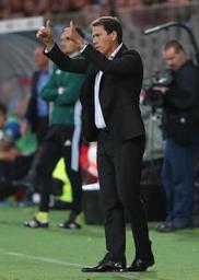 Europa League - Rudi Garcia, l'entraîneur de l'OM, content de l'assise défensive de son équipe à Ostende