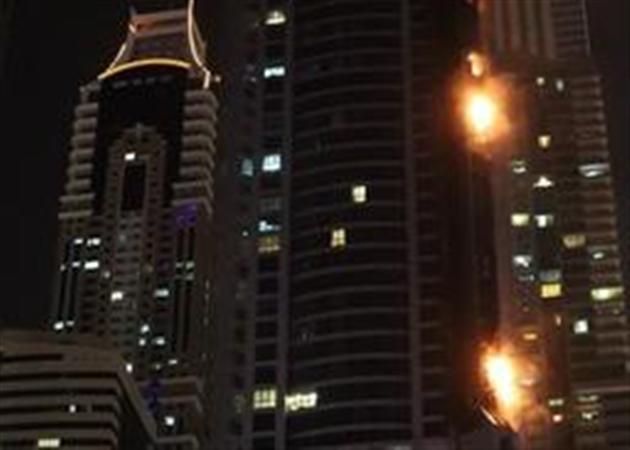 L'incendie de la Torch Tower à Dubaï sous contrôle