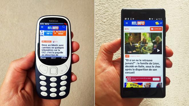Nokia est de retour en Belgique: que vaut son 3310 version 2017, et son premier smartphone Android ?