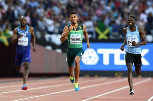 Athlétisme - Championnats du Monde - 400m (H) : Makwala privé de finale