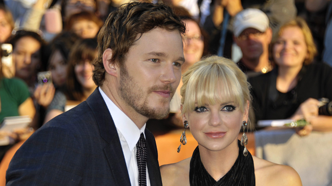 les acteurs chris pratt et anna faris annoncent leur s paration apr s 8 ans de mariage rtl people. Black Bedroom Furniture Sets. Home Design Ideas