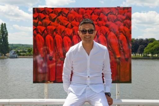 Des photos de l'artiste chinois Liu Bolin dérobées à Vichy