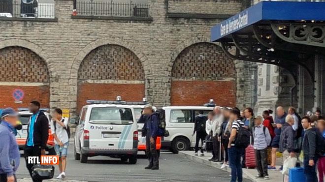 Un colis suspect a provoqué l'évacuation de la gare de Verviers: fausse alerte