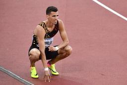 Kevin Borlée tiendra sa place dans les séries du 4X400 m